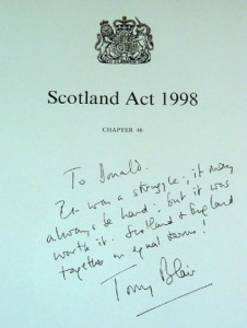 Scotland_Act_Blair_autograph